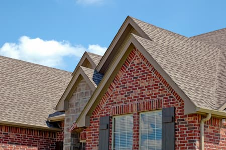 Res shingle roof
